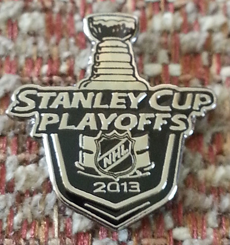"""NHL 2013 STANLEY CUP PLAYOFFS 5/8"""" EXECUTIVE Pin"""