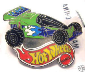 Hot Wheels TOY STORY SHOCK FACTOR Lapel Pin