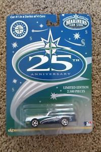 Seattle Mariners 25th Anniversary Die Cast Car