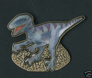 Utahraptor Lapel Pin