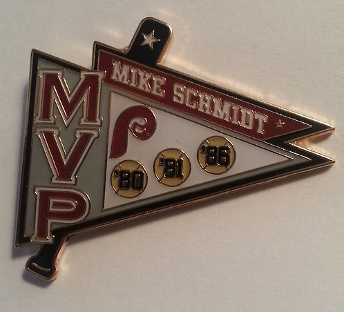 Mike Schmidt MVP AWARDS Lapel Pin - PHILLIES