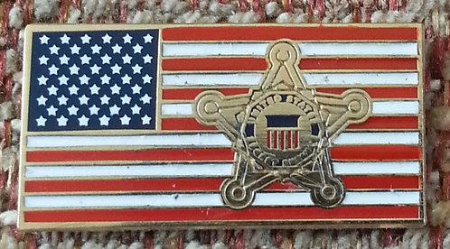 United States Secret Service Lapel Pin