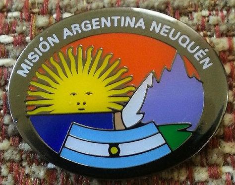 Argentina Neuquén MISSION Lapel Pin