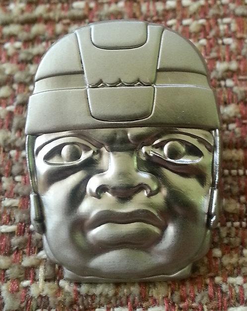 Olmec Colossal Head Lapel Pin