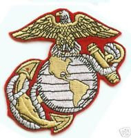 """United States Marine Corps USMC 3"""" CUT OUT PATCH"""