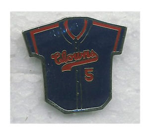 Negro League CLOWNS Lapel Pin