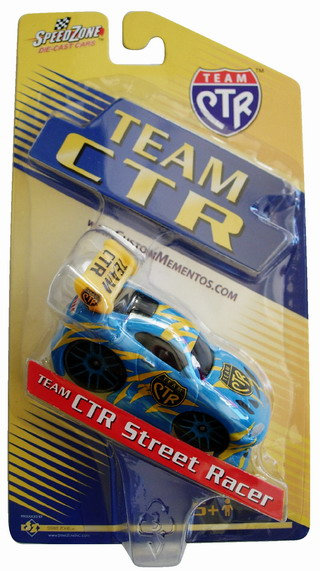 CM-4546 - Team-CTR Die Cast Car - Street Racer