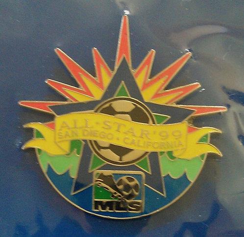 MLS SAN DIEGO 1999 ALL STAR GAME LAPEL PIN