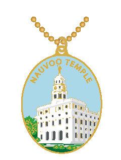CM-4520-D - Nauvoo Temple Pendant