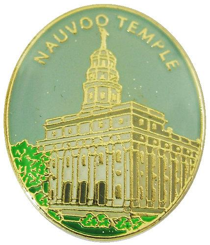 CM-4520 - Nauvoo Temple Lapel Pin