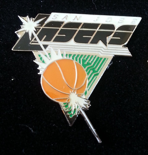 San Jose Lasers ABL Lapel Pin