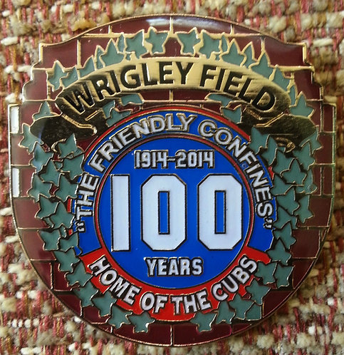 Wrigley Field 100th Anniversary Lapel Pin