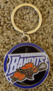 Buffalo BANDITS - Round Logo - Key Ring