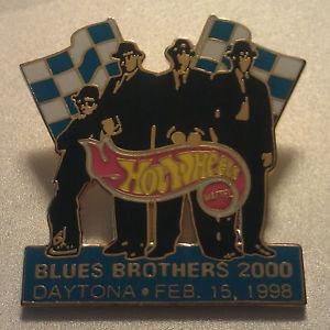 BLUES BROTHERS 2000 / DATONA 500 - FEB, 1998 Pin