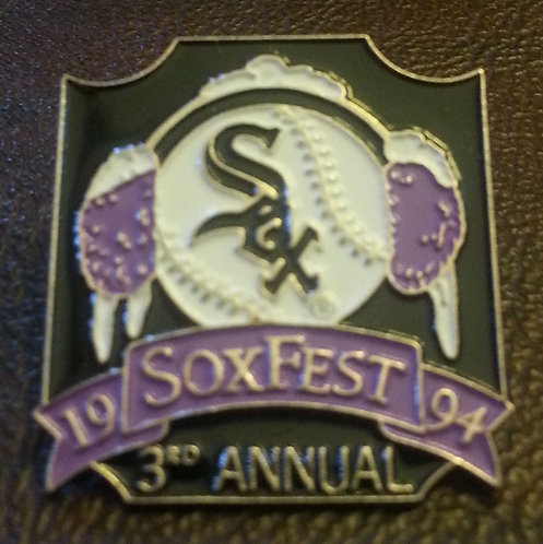 WHITE SOX 1994 3rd ANNUAL SOXFEST LAPEL PIN