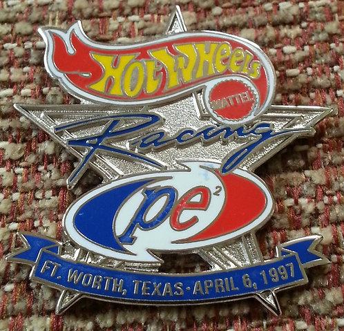 HW NASCAR Racing #44 / FORT WORTH, TX Lapel Pin