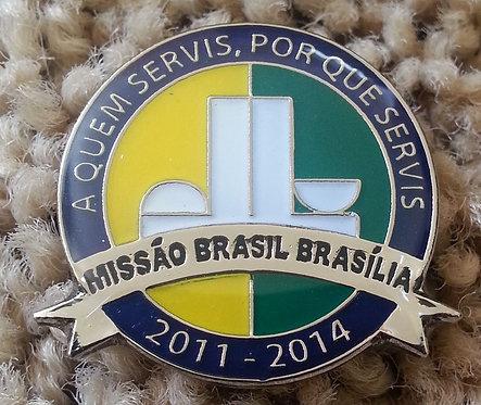 BRASIL (BRAZIL) BRASILIA MISSION Lapel Pin