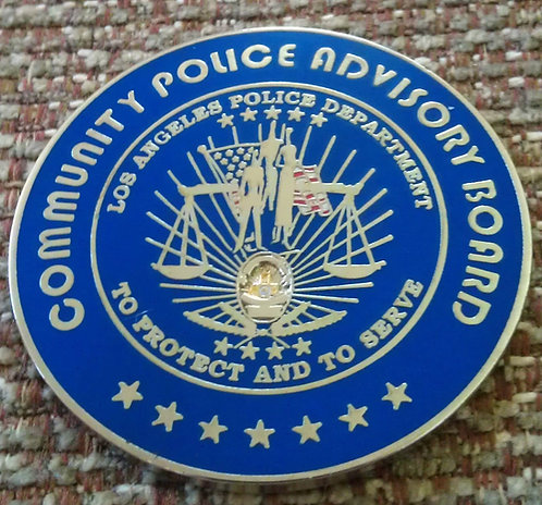 LAPD COMMUNITY POLICING C-PAB Challenge Coin