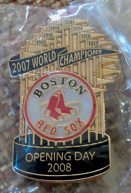 Boston Red Sox 2008 Opening Day Trophy Lapel Pin