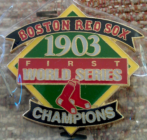 BOSTON RED SOX 1903 WORLD SERIES Lapel Pin