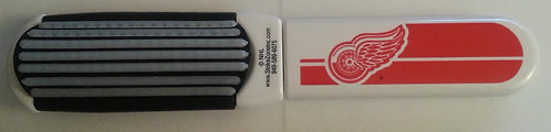 Detroit REDWINGS Folding Hair Brush & Mirror