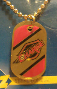 "PHILADELPHIA CHARGE - 1-1/4"" Dog Tag w/Necklace"