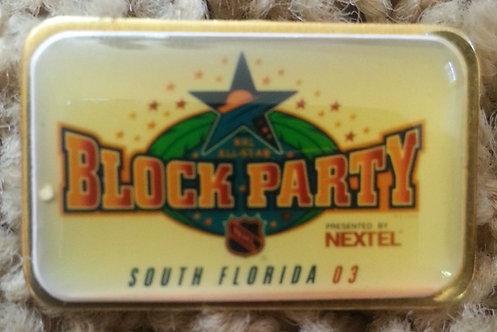 2003 Florida ALL STAR GAME NEXTEL BLOCK PARTY Pin