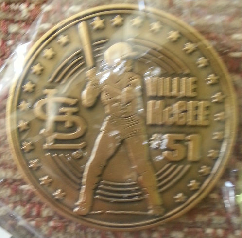 WILLIE McGEE #51 - Coin 1 of 4 - May 13, 2000