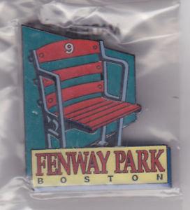 BOSTON RED SOX FENWAY PARK Seat #9 Lapel Pin