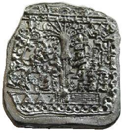 "CM-4811 - Tree of Life ""Stela 5"" Stone Lapel Pin"