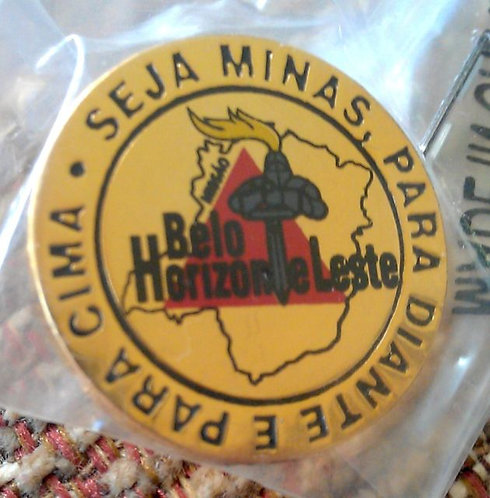 Brazil Belo Horizonte Leste MISSION Lapel Pin