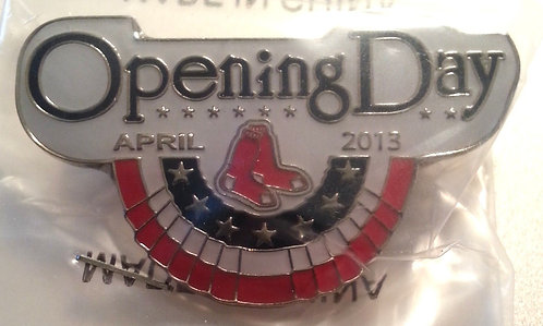 RED SOX OPENING DAY 2013 FENWAY PARK Lapel Pin