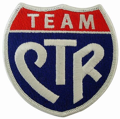 CM-4568 - Team CTR Membership Stick-On Patch