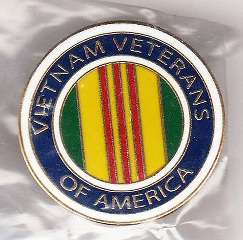 VIETNAM WAR Veterans of America Lapel Pin