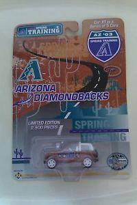 ARIZONA DIAMONDBACKS #1 of 5 Cars - 2003 Die Cast