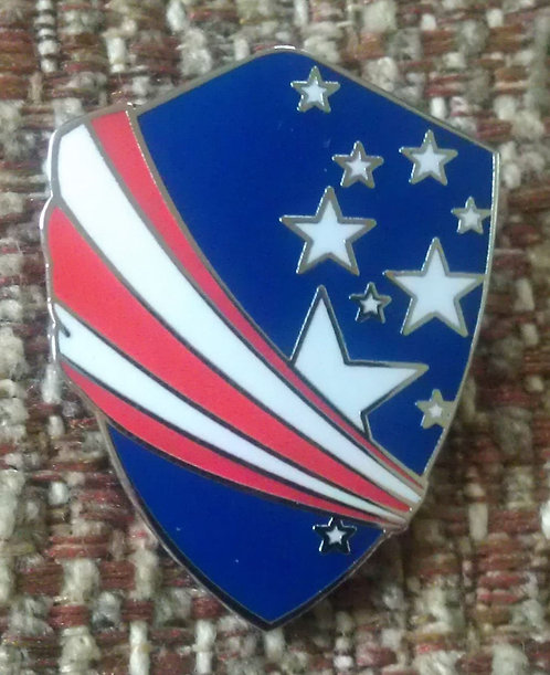 """TEA PARTY CANDIDATE FOR PRESIDENT 1"""" Lapel Pin"""