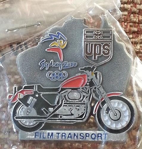 UPS FILM TRANSPORT Sydney 2000 Olympic Lapel Pin