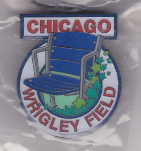 Wrigley Field Stadium Seat Lapel Pin