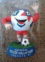 National Soccer Hall Of Fame MASCOT BOBBLEHEAD
