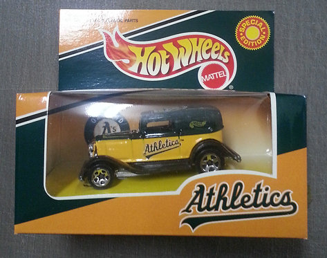 HOT WHEELS OAKLAND A's 1932 FORD DELIVERY Car