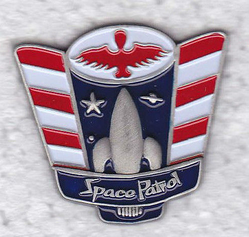 SPACE PATROL Lapel Pin