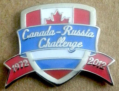 CANADA - RUSSIA CHALLENGE 1972-2012 Lapel Pin