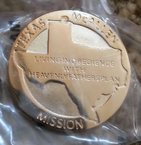 Texas McAllen MISSION Lapel Pin