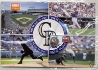 "COLORADO ROCKIES ""Pin #2 of 4"" 2001 Lapel Pin"