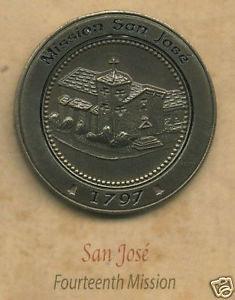 SAN JOSE California Mission Lapel Pin #14 of 21
