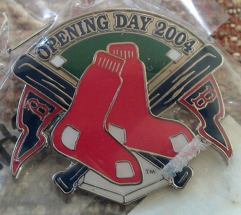 Boston Red Sox 2004 Opening Day Lapel Pin