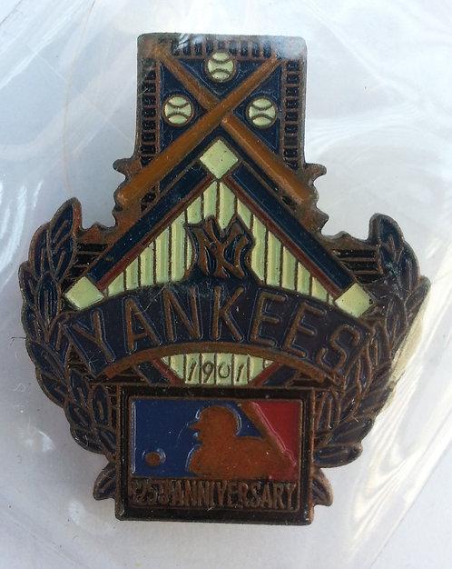 NEW YORK YANKEES 125th Anniversary of MLB Pin