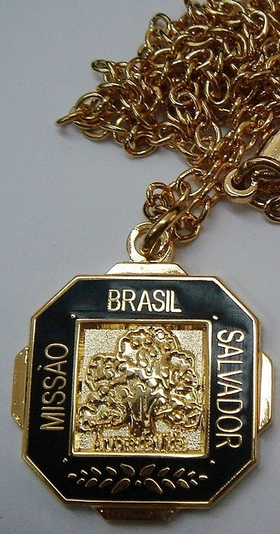 "BRAZIL SALVADOR MISSION ""Tree of Life"" Pendant"