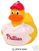 MLB Philadelphia Phillies Rubber Duck