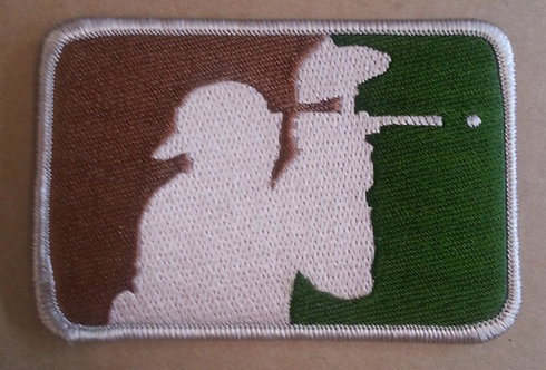 PAINTBALL CAMO ** LOGO ** Embroidered Patch